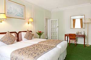 London Hotel Bedroom